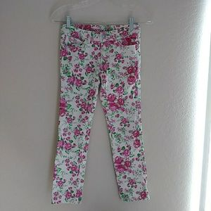 Guess Flower print skinny jeans